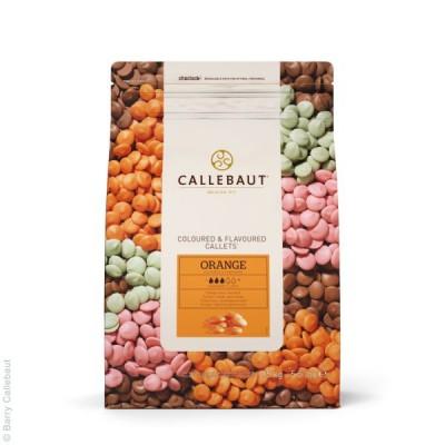 Pomarančová čokoláda Callebaut 2,5 kg