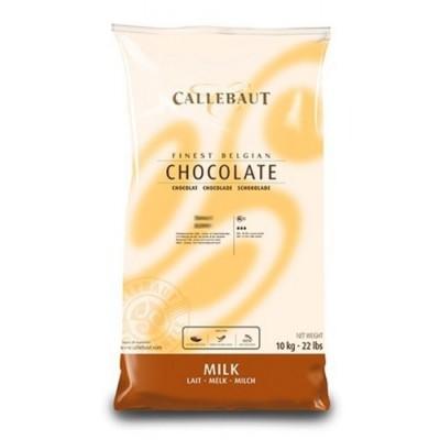 Belgická čokoláda Callebaut 10 kg mliečna