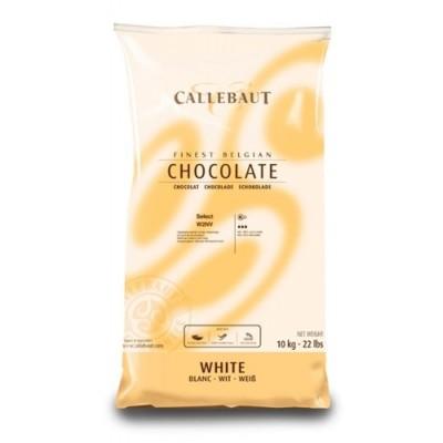 Belgická čokoláda Callebaut 10 kg biela