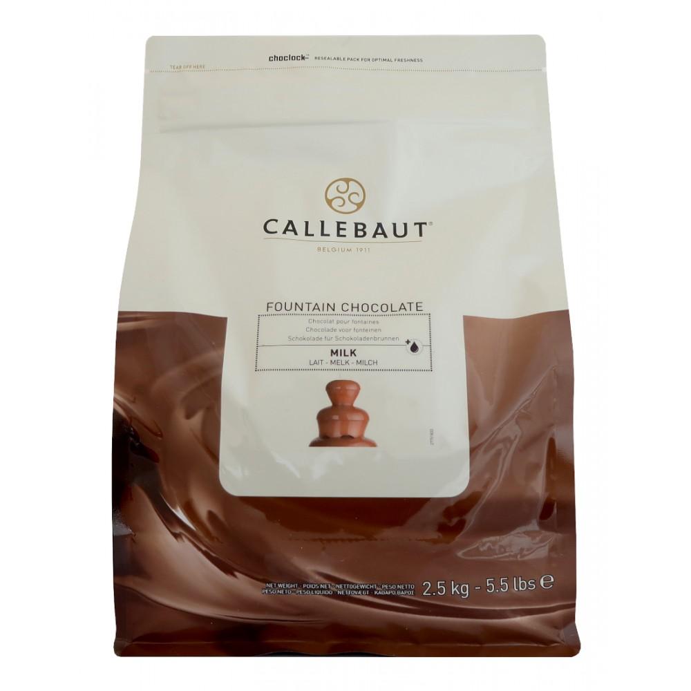 Mliečna čokoláda Callebaut do fontány 2,5 kg