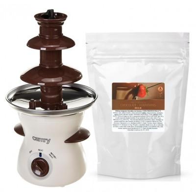 Čokoládová fontána Camry a mliečna čokoláda Callebaut do...