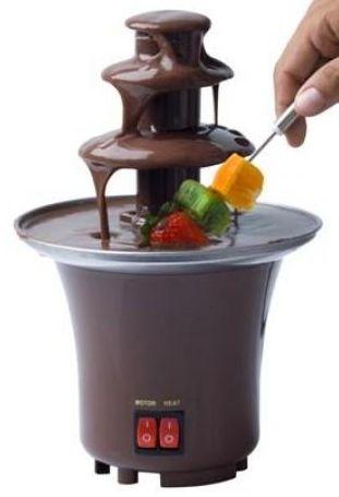čokoládová fontána mini