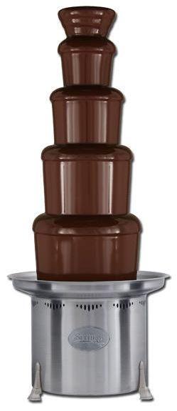 čokoládová fontána sephra